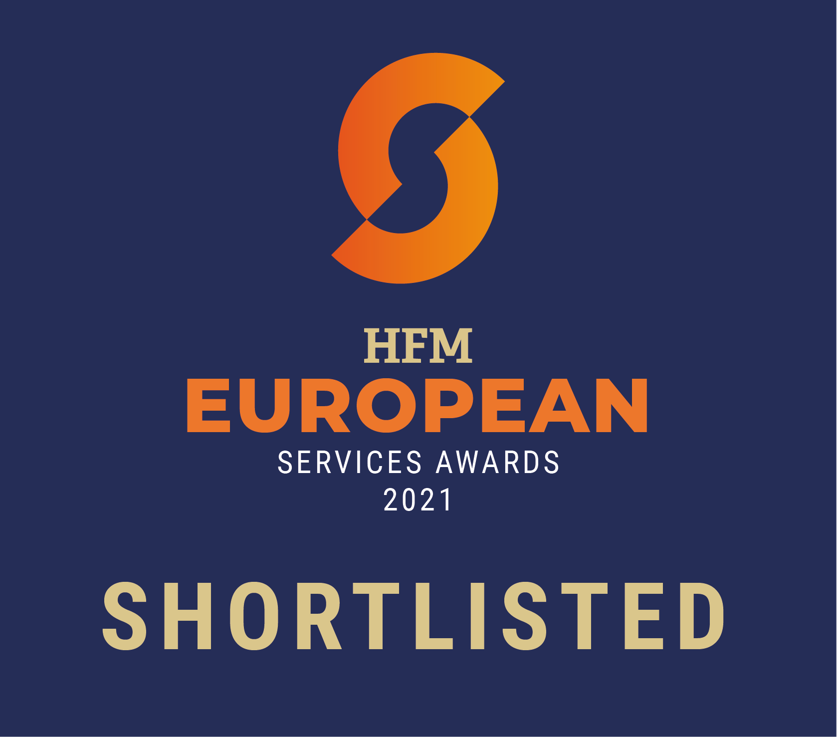 Best Portfolio Management System Provider HFM European Services Awards 2021