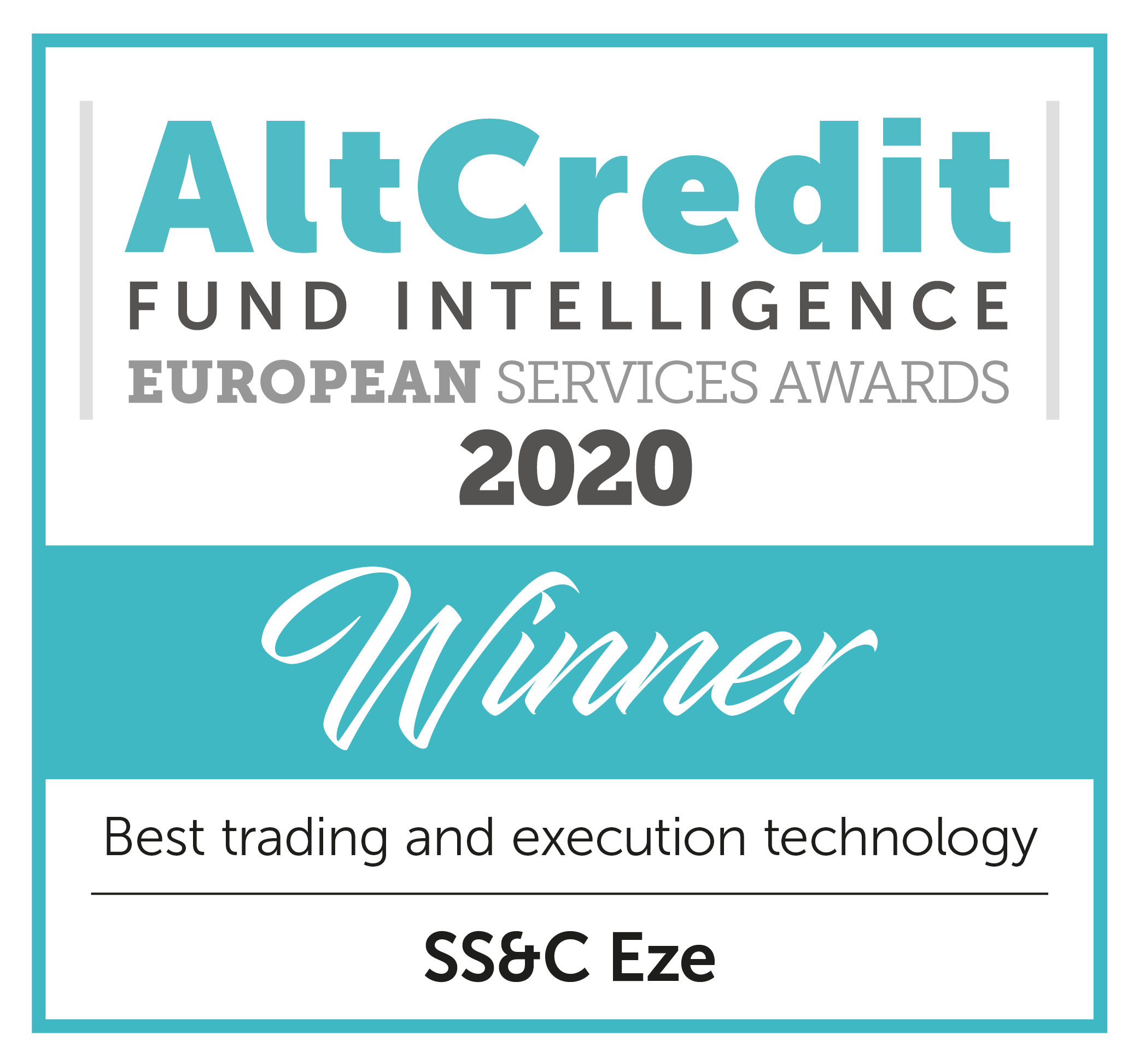Alt Credit Fund Intelligence European Services Awards 2020