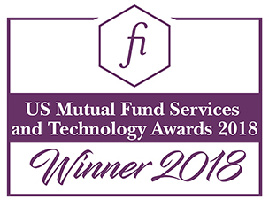 Fund Intelligence Mutual Fund Services & Technology Awards 2018