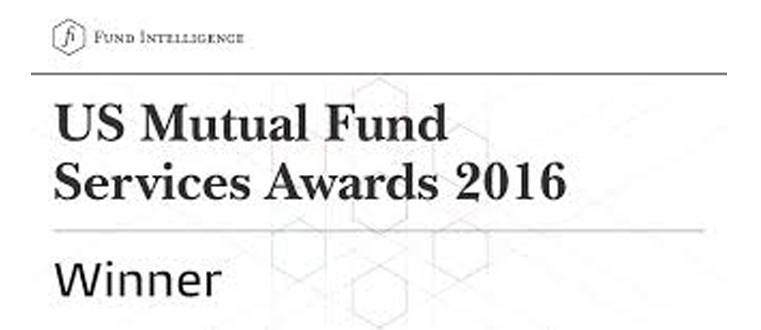 Fund Intelligence US Mutual Fund Services Awards 2017