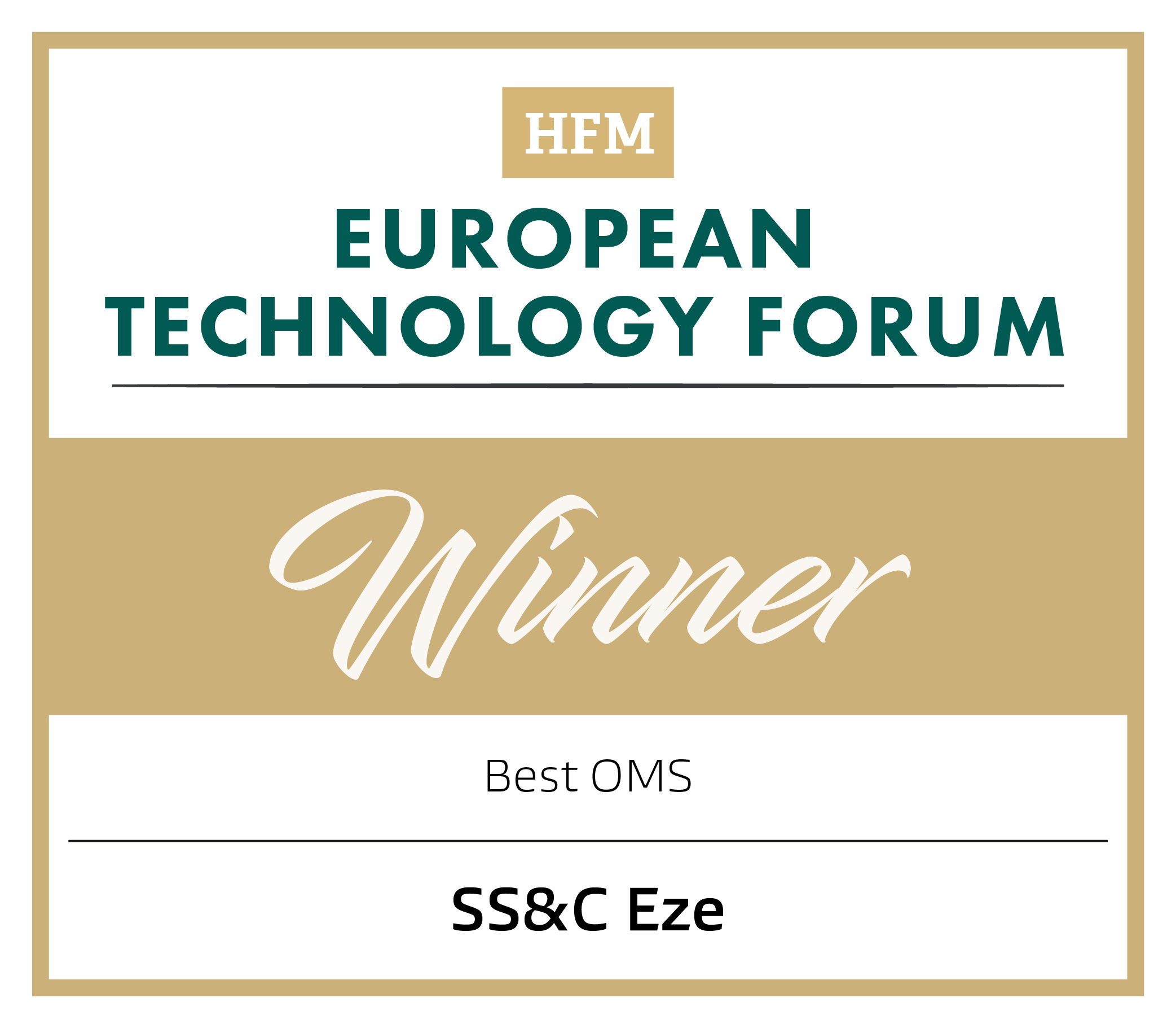 HFM European Technology Awards 2020