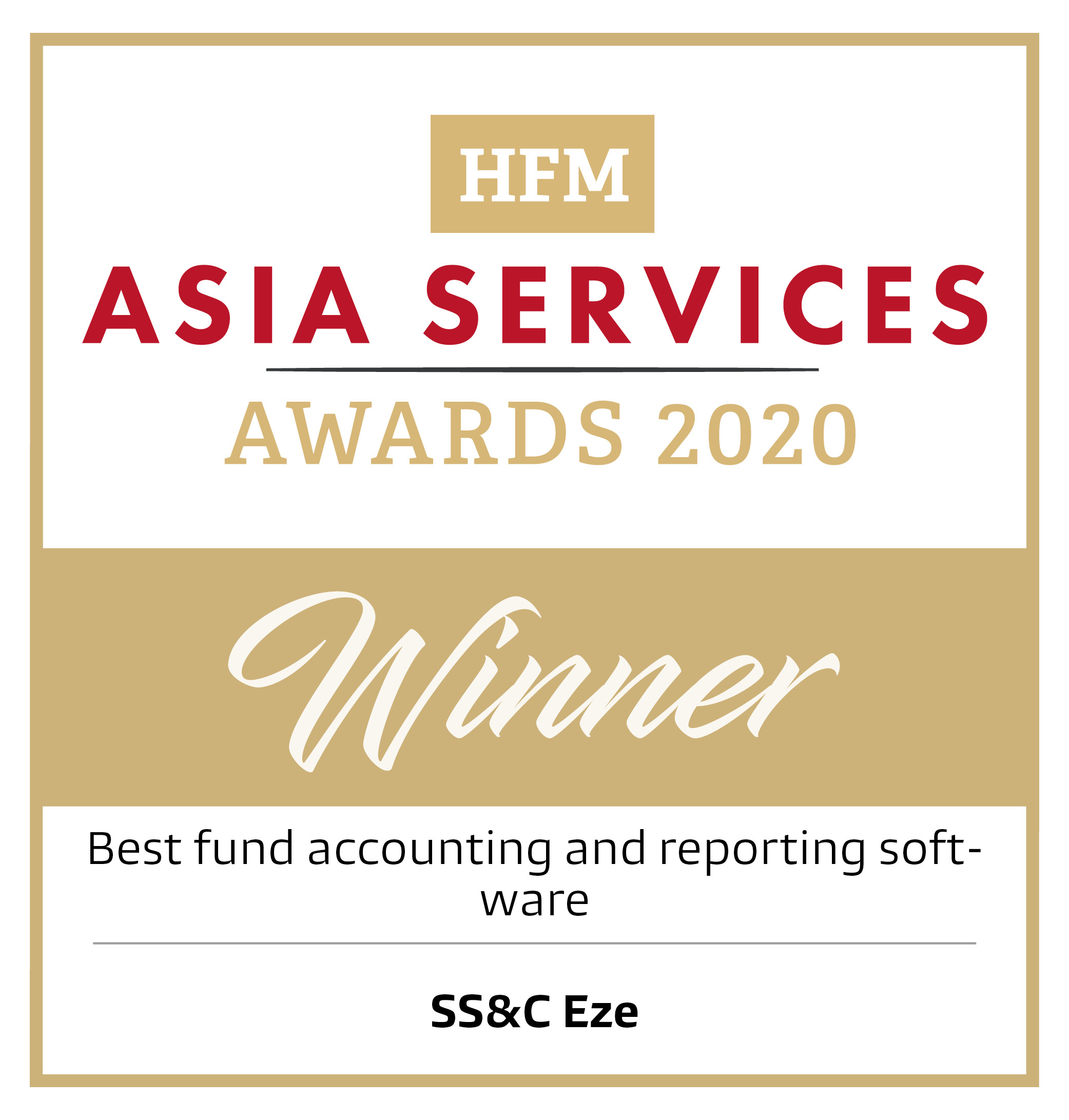 HFM Asia Services Awards 2020