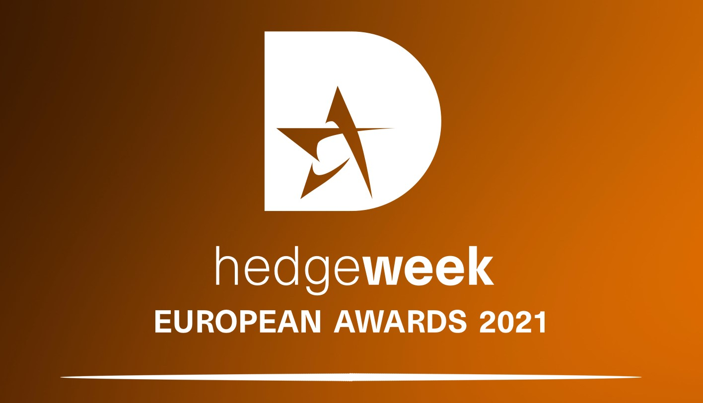 Hedgeweek European Awards 2021 logo