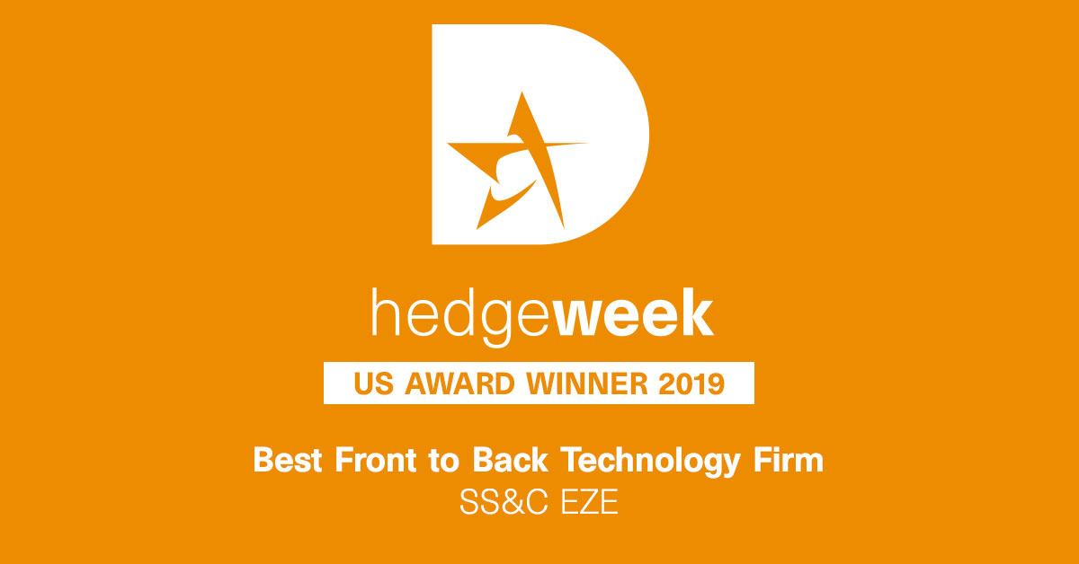 Best Front-to-Back Office Technology Firm Hedgeweek USA