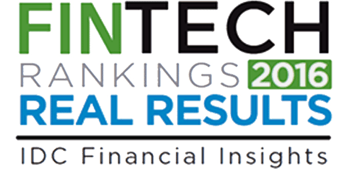 IDC Financial Insights FinTech Rankings 2016