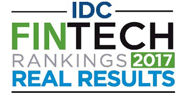 IDC Financial Insights Fintech Rankings