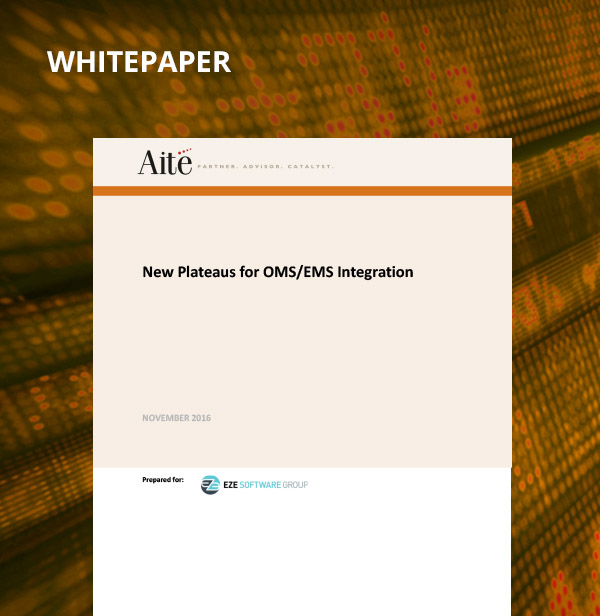 New Plateaus for OMS/EMS Integration Whitepaper