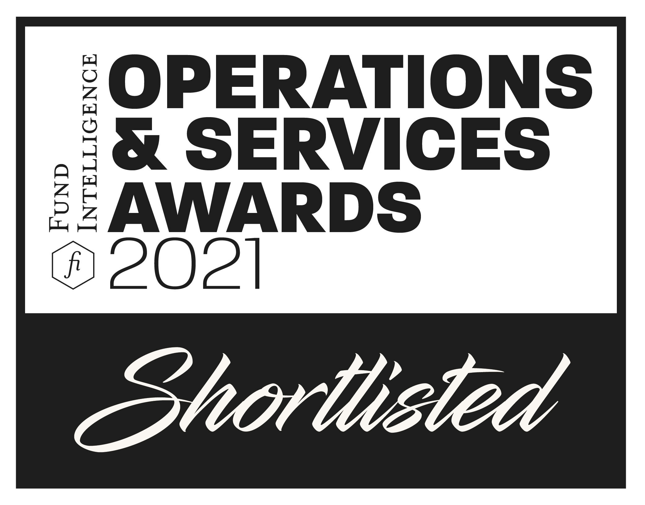 Fund Intelligence Operations & Services Awards 2021