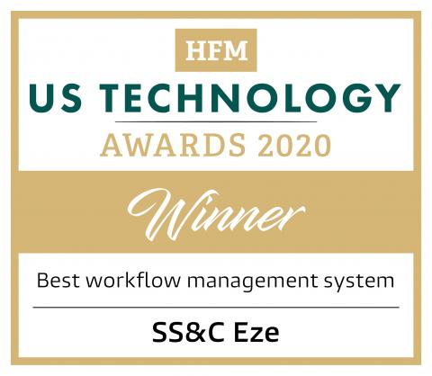 HFM US Technology Awards 2020