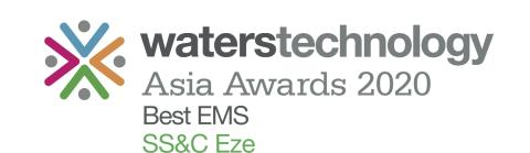 WatersTechnology Asia Awards